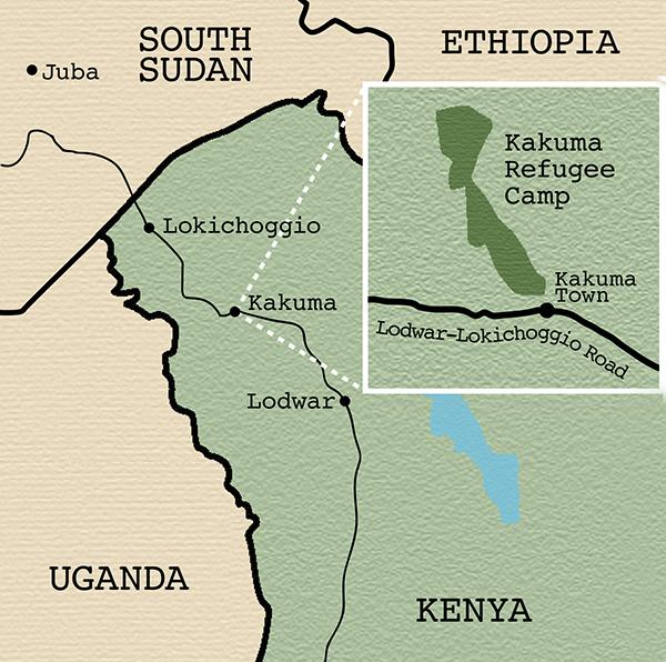 Kakuma-map