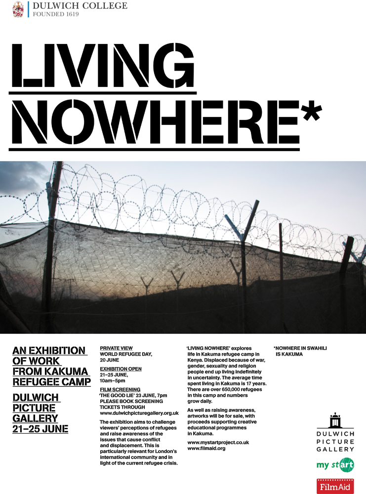 'Life Happening Nowhere' at The Dulwich Picture Gallery