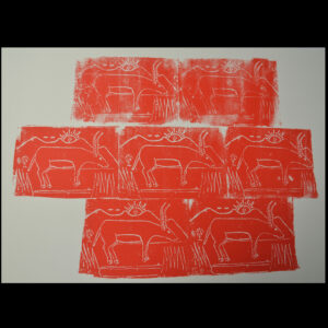 Gazelles Screen Prints