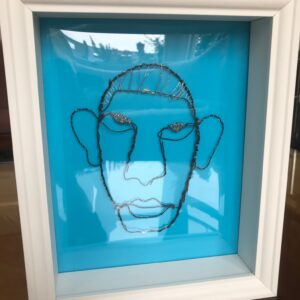 Wire Head, Blue