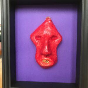 Hidden Treasure, Red Mask